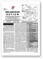 Belarusian Review, Volume 12, No. 1