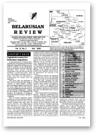Belarusian Review, Volume 12, No. 3