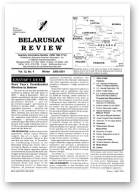 Belarusian Review, Volume 12, No. 4