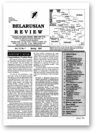 Belarusian Review, Volume 13, No. 1