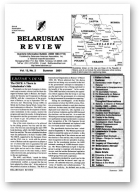 Belarusian Review, Volume 13, No. 2
